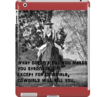 COWGIRL HEART iPad Case/Skin
