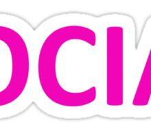 Broken social scene Sticker