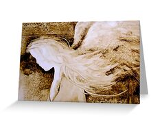 EN895 Angel Painting Greeting Card