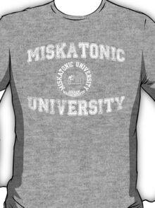 Miskatonic University (white version) T-Shirt