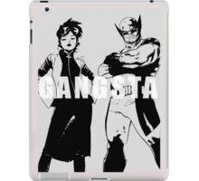 GANGSTA X-MEN (JUBILEE & WOLVERINE) Threshold  iPad Case/Skin