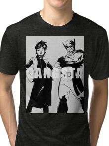 GANGSTA X-MEN (JUBILEE & WOLVERINE) Threshold  Tri-blend T-Shirt