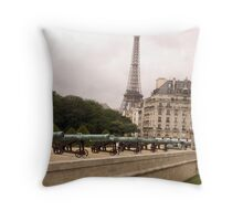 Lines of Canons Throw Pillow