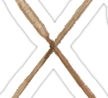 Crossed Arrows Sticker