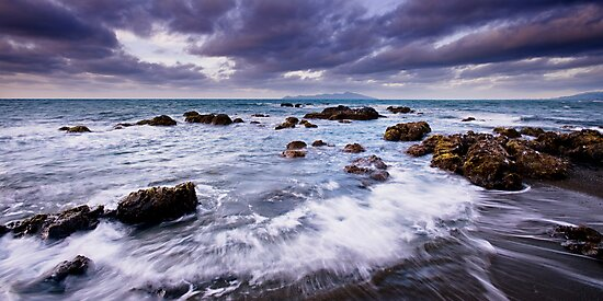 Pukerua Bay Backwash by Ken Wright