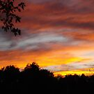 October Sunset by Sheri Nye