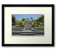 Water Palace - Bali Framed Print