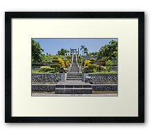 Water Palace - Bali Framed Print