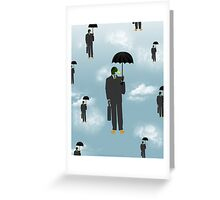 Mallard Magritte Greeting Card