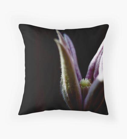 Budding Throw Pillow