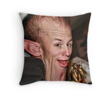 Christmas Elf? Throw Pillow