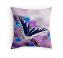 Inverted Swallowtail Throw Pillow