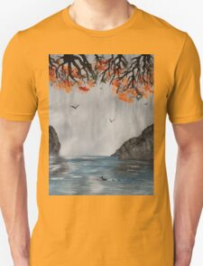 The Waterfall and the River Unisex T-Shirt