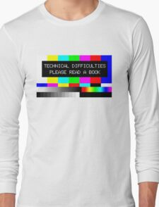 Please read a book Long Sleeve T-Shirt