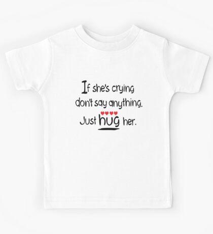 Hug her Kids Tee