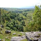 View From The Top Of Malham Cove by acespace