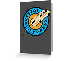 Crystal Express Greeting Card