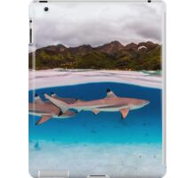 Reef shark iPad Case/Skin
