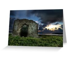 Instow Lookout Tower Greeting Card