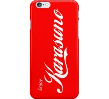 Karasuno - Coca Cola Parody iPhone Case/Skin