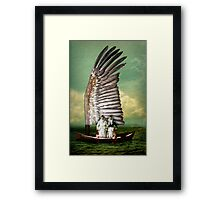 Time to say Good Bye Framed Print