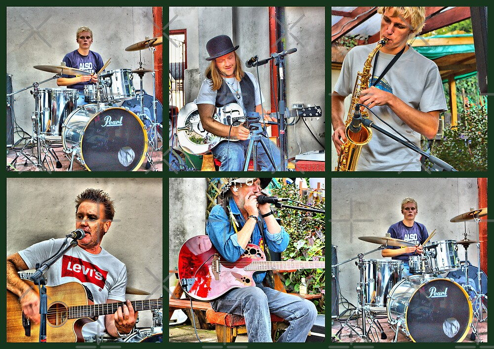 HDR Band by Catherine Hamilton-Veal  ©
