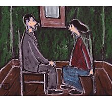 The Courting Couple Photographic Print