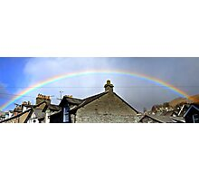 Ambleside Rainbow Photographic Print
