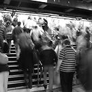 rush hour, victoria station, london by photogenic