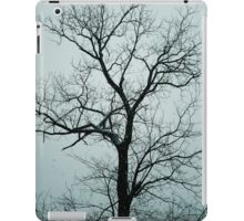 Lonely Tree Waiting For Spring | Center Moriches, New York  iPad Case/Skin