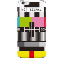 No Signal No signal No signal iPhone Case/Skin