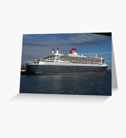 Queen Mary II Greeting Card