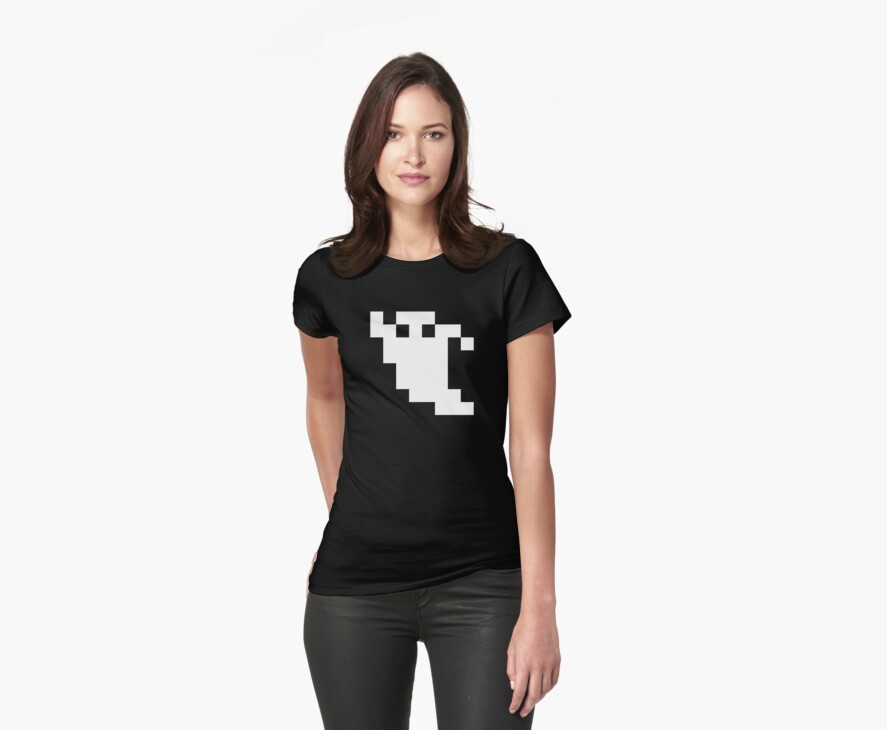 8 Bit Pixel Ghost by tinybiscuits
