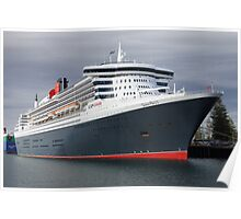 Queen Mary II Poster