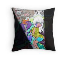 Graffiti in Melbourne Throw Pillow