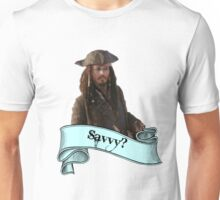 Pirates Of The Caribbean Savvy? Unisex T-Shirt