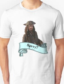 Pirates Of The Caribbean Savvy? T-Shirt