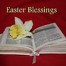 Easter Blessings by AnnDixon