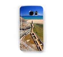 There, at last! - Potami beach, Evia island Samsung Galaxy Case/Skin