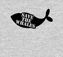 Save the Whales Women's Fitted Scoop T-Shirt
