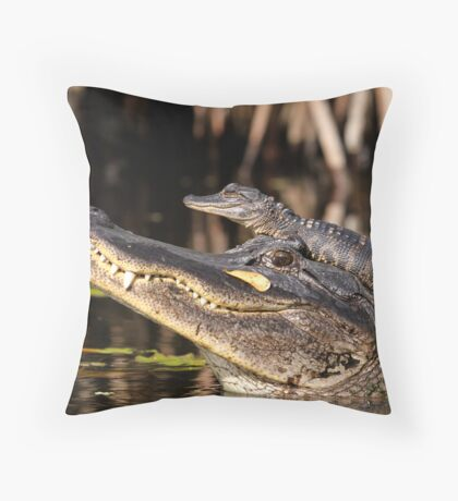 Don't come any closer! Throw Pillow