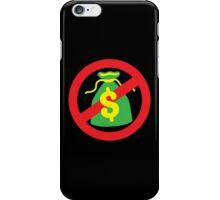 NO MONEY poor bags iPhone Case/Skin