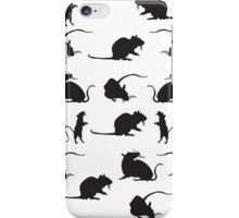 Must. Love. Rats Print iPhone Case/Skin