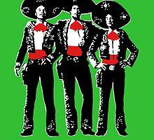 Three Amigos by iankingart