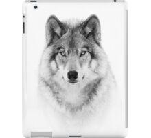 Timber Wolf in B&W iPad Case/Skin