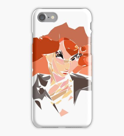 Mosaic widow  iPhone Case/Skin