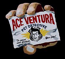 Ace Ventura Pet Detective by iankingart