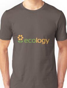 Ecology inscription Unisex T-Shirt