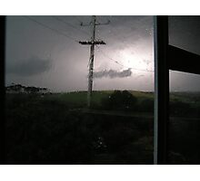 Stormy Night Photographic Print