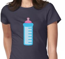 Baby's bottle Womens Fitted T-Shirt
